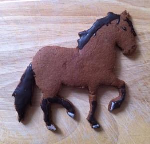 Resi als Keks - vielen Dank an Caro (Yvis Freundin aus München) - ich finde es fast zu Schade zum Essen!