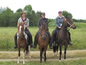 Diosa, Resi und Fénix in Kosbach, Foto: privat