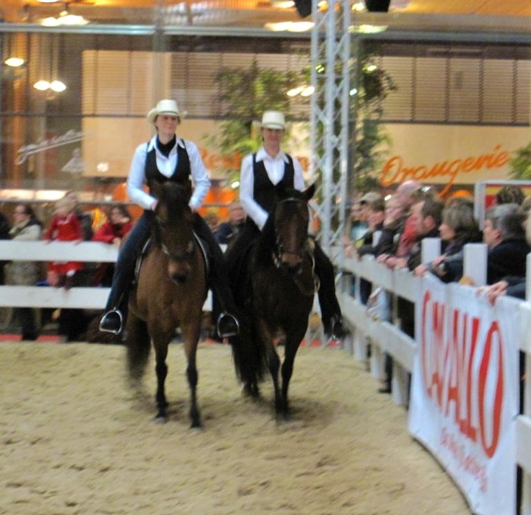 Cavallo-Aktionszirkel mit Kaja Stührenberg und Stephan Vierhaus, Foto: Basti Hoinza