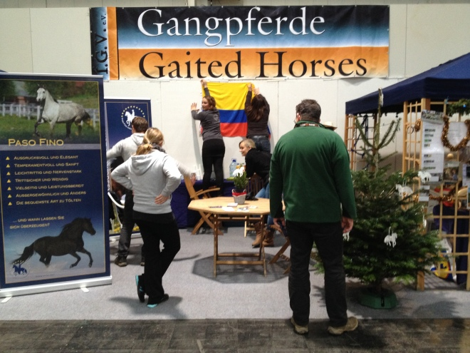 Gewusel am Stand, Foto: privat