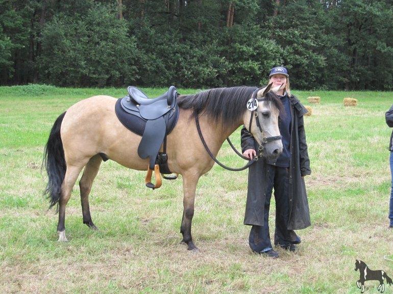 Jacinto und ich in Zehntbechhofen 2009 - Foto: privat